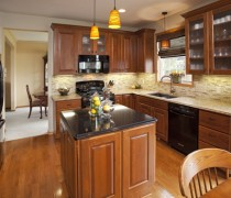Apple Valley | Cherry Cabinets
