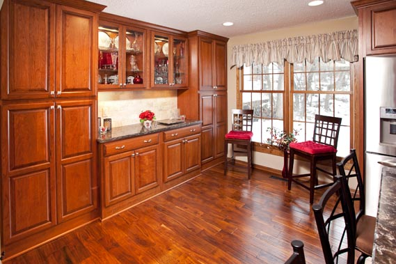 bloomington kitchen remodel by the cabinet store - Kitchen Remodel Stores