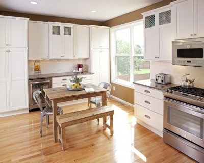 White Kitchen Cabinets MN