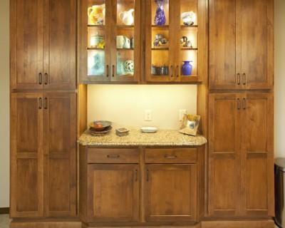 Doors frame aluminum miami cabinet