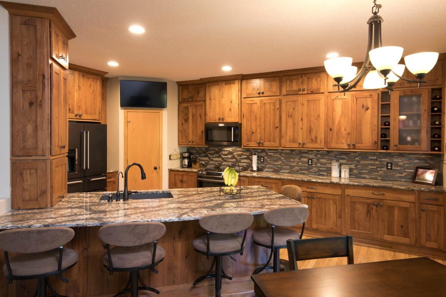 Project Feature Rustic Amp Cozy Kitchen Remodel The
