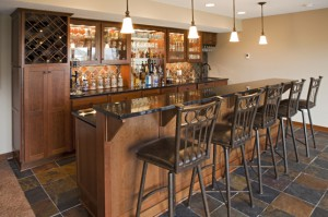 Attrayant Basement Bar By The Cabinet Store