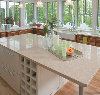 Kitchen with Cambria Countertops