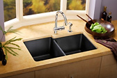 e-granite gourment kitchen sink