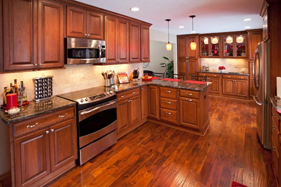 Bloomington Kitchen Remodel by The Cabinet Store