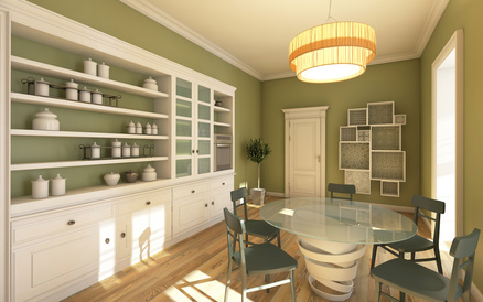 Selecting the right color for your kitchen kitchen color trends the cabinet store - Suitable colors kitchen energy ...