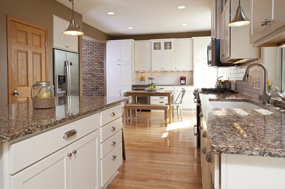 Project Feature: Apple Valley White Kitchen Remodel ...