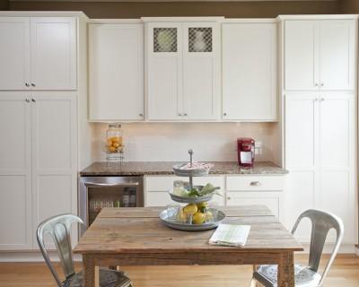 White Kitchen Cabinets MN