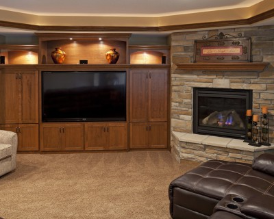 Farmington Entertainment Center Cabinetry