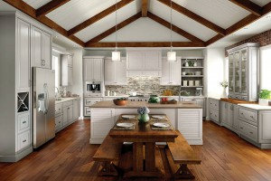 Painted Cabinets from Medallion Cabinetry via The Cabinet Store MN