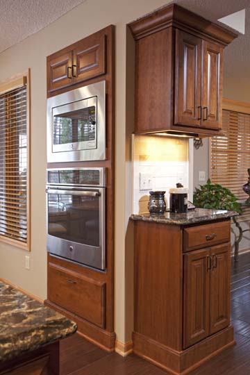 Project Feature: Apple Valley Kitchen Remodel Cherry Wood ...