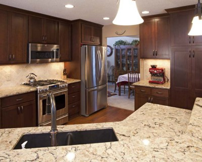Burnsville MN kitchen remodel cabinetry countertops