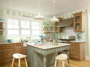 Cambria countertops kitchen island