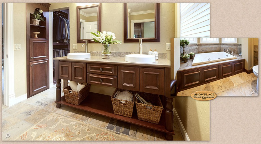 Showplace Wood Vanities at The Cabinet Store Twin Cities MN