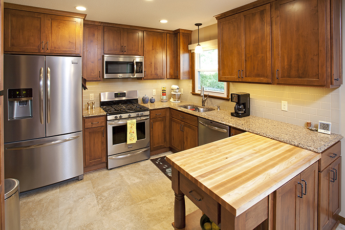 Project Feature: Apple Valley Kitchen Remodel with Unique ...