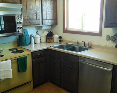 A 48s Kitchen Goes Black And Gets Room For Holiday Baking Awesome 1970S Kitchen Remodel