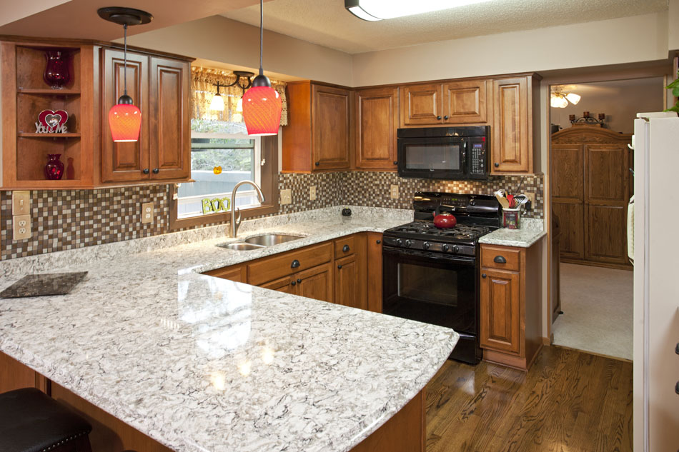 Lakeville Kitchen Cabinet Refacing | Project By The Cabinet Store