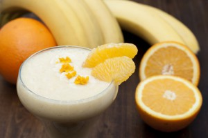 Coconut Oil Recipes | Coconut Banana Orange Smoothie | Twin Cities MN | The Cabinet Store Health Tips