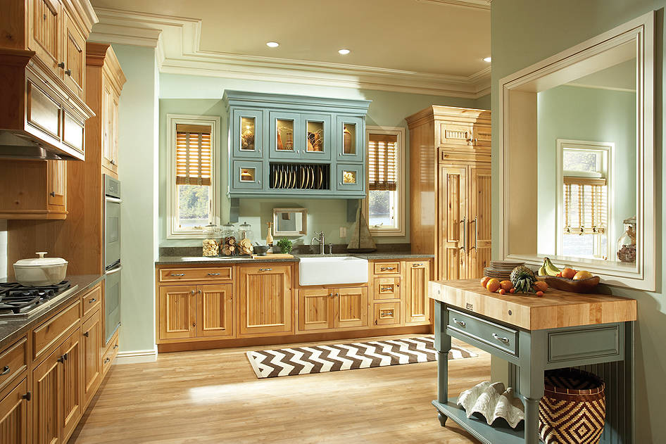 Color Pop in Kitchen | by Medallion, available at The Cabinet Store Twin Cities MN