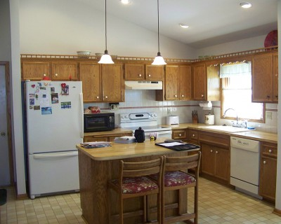 Eagan Kitchen Remodel BEFORE picture