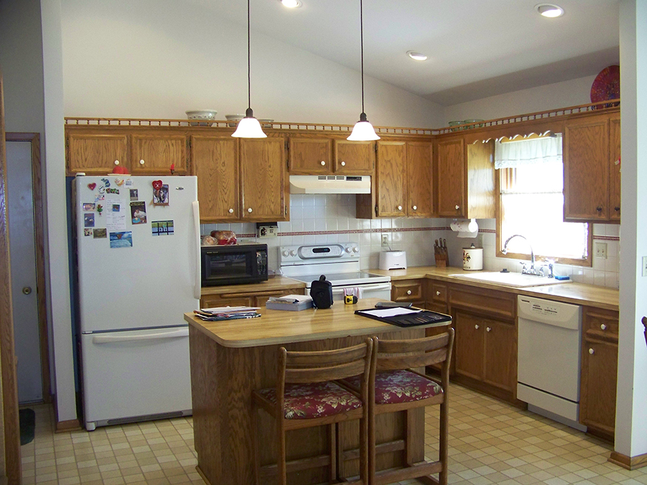 Real home feature eagan kitchen remodel updated and for Updated kitchen remodels