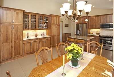 Eagan Kitchen Remodel AFTER picture