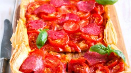 Minnesota Twin Cities Summertime Tomato Tart Recipe