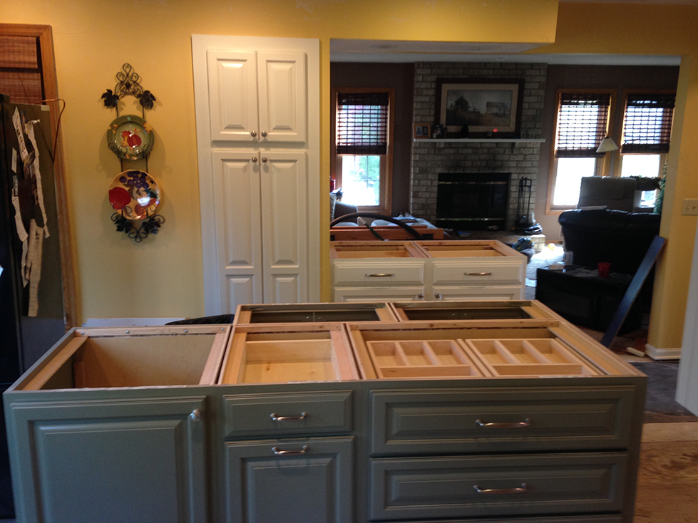 apple valley kitchen cabinets real home feature two toned apple valley kitchen remodel 10710