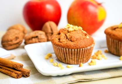 Light and Healthy Apple Muffin Recipe