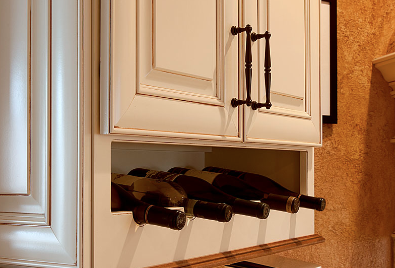 Built-In Wine Storage Ideas for Your Kitchen | Kitchen Remodeling ...