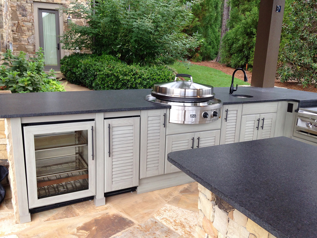Besides Their Solid Composition, These Low Maintenance Cabinets Also Come  In A Variety Of Stunning Finishes And Styles. Create Your Ideal Outdoor  Cooking ... Pictures