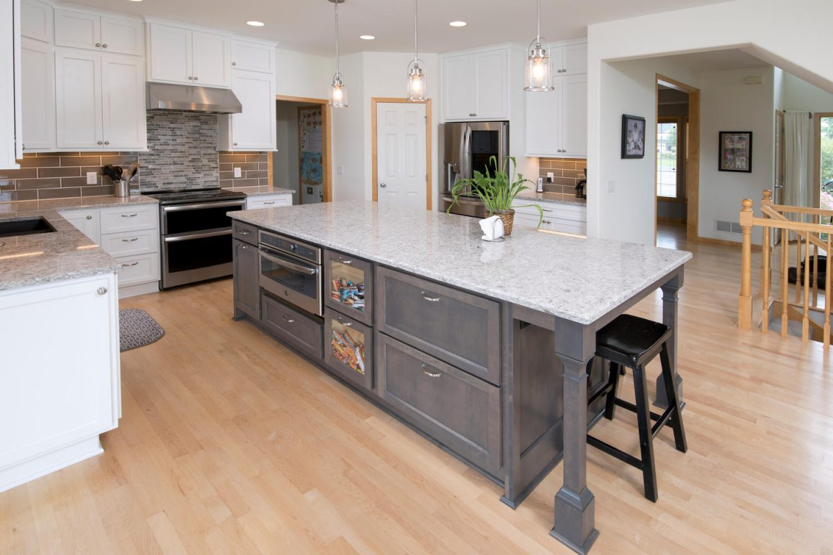 Gray Cabinetry And Gray Kitchens Top Trend Lists Twin Cities Kitchen Design Tips The Cabinet Store