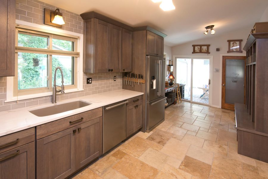Kitchen Backsplash Tile Tan Subway