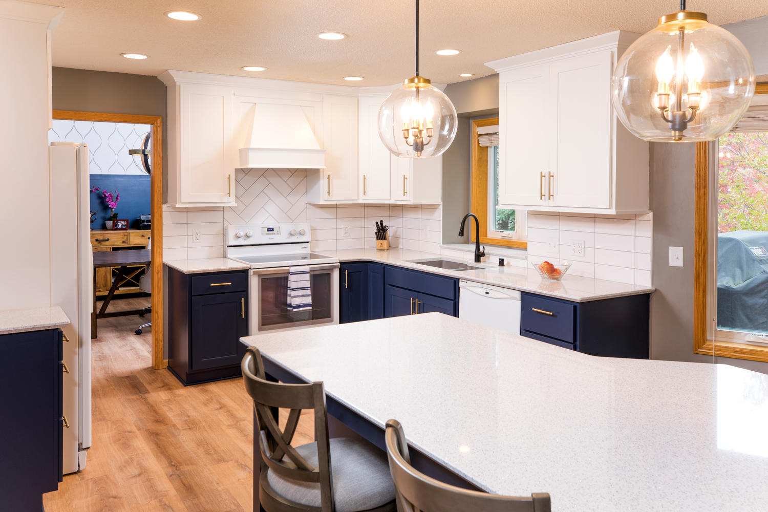 Project Feature Transitional Style Kitchen Remodel In Rosemount Minnesota The Cabinet Store