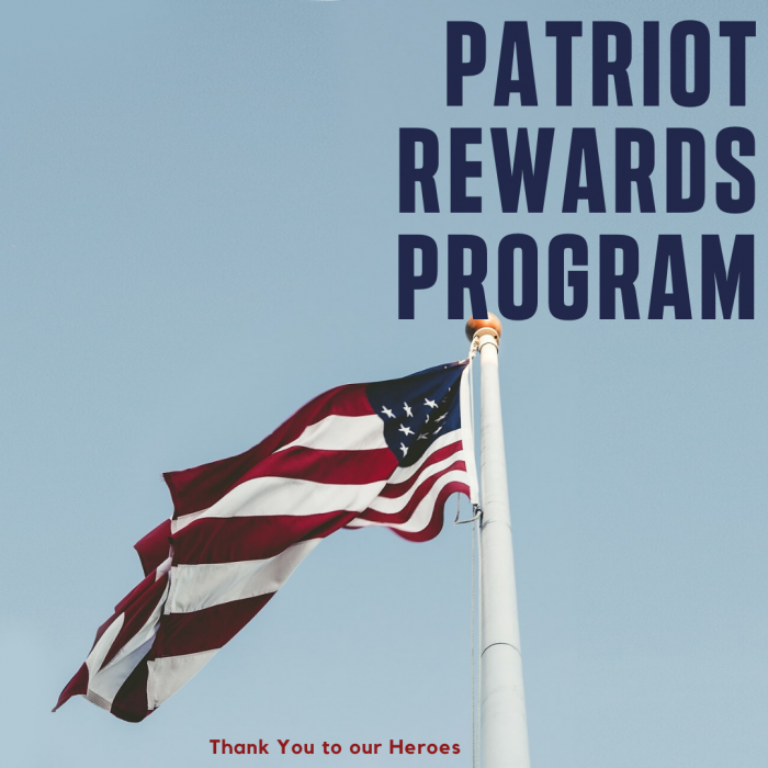 The Cabinet Store Patriot Award Program for Frontline Workers